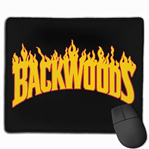 Flame Backwoods Mouse Pad Gaming Mouse Pad Non-Slip 11.8 X 9.8 Inches Mouse Mat for for Office Computer Gaming Home