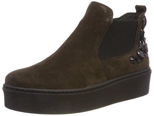 Tamaris Damen 25400 Chelsea Boots, Grün (Dark Olive 713), 38 EU