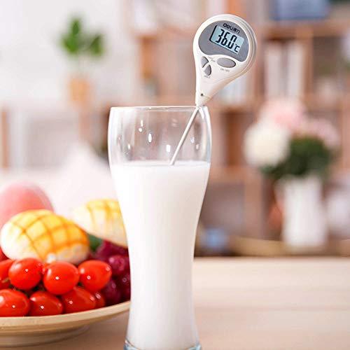 Anyi Kochen Thermometer Zuckerthermometer mit Super Long Probe für Küche BBQ Grill Smoker Fleisch Öl Milch Joghurt Temperatur