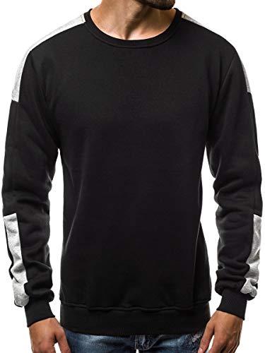 VANVENE Mens Casual Sweatshirts Long Sleeve Pullover Crew Neck Sweater Jumper Top
