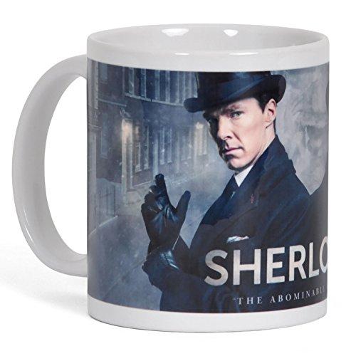 Sherlock Abominable Bride Tasse 300ml weiß in Geschenkbox