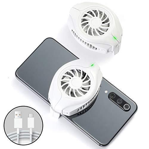 OFIYAA Enfriador De Teléfonos, Ventilador Portátil USB, Enfriador De Teléfonos Inteligentes Para Iphone / Samsung / Huawei / Xiaomi Y IOS / Android
