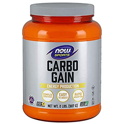Now Sports Nutrition, Carbo Gain (Maltodextrin)