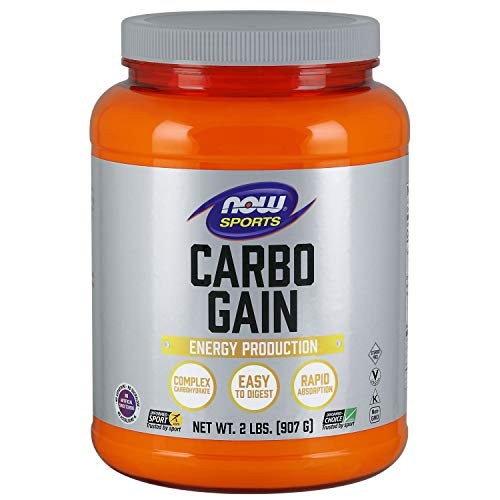 NOW Sports Nutrition, Carbo Gain Powder (Maltodextrin), Rapid Absorption, Energy Production, 2-Pound