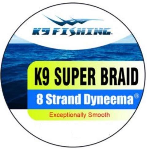 K9 150-10lb-BRP K9 Fishing Braided Pink Line 150 Yard Spool 10lb Test