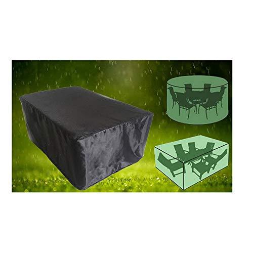 liangh Cubiertas Protectoras para Muebles De Jardín,420D Oxford Tela Impermeable/Anti-Viento/Lluvia/Polvo/Nieve,325 * 208 * 58