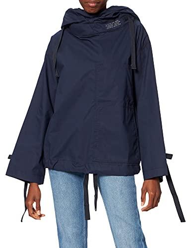 G-STAR RAW Smock Top Hooded Camisa, Azul (Warm Sartho 4481-c423), XL para Mujer