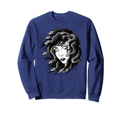 Medusa Gorgone Griechische Mythologie Medusa Sweatshirt