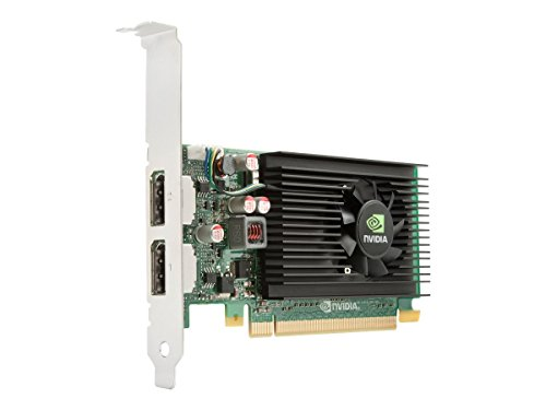 HP A7U59AT Grafikkarte (PCI-e, 512MB GDDR3 Speicher, NVIDIA NVS 310, DVI, 1 GPU)