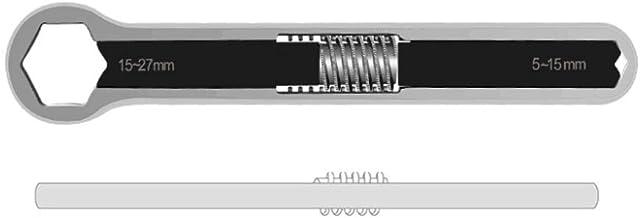 Jilin Chave inglesa ajustável multifuncional com cabeça dupla, ferramentas manuais de reparo universal