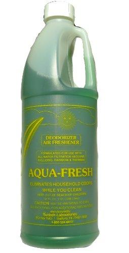RAINBOW 1x Aqua Fresh los olores y ambientador vacío aspiradoras Ð 32oz; neutralizar olores en tu hogar con una pequeña cantidad en su Agua Cuenca