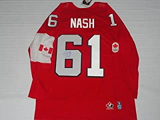 rick nash team canada jersey