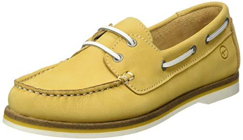 Tamaris Damen 1-1-23616-24 Segelschuhe, Gelb (Yellow 600), 39 EU