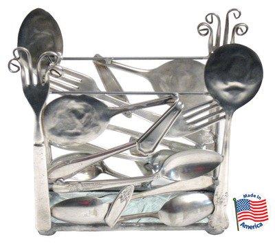 Silver Plate Napkin Holder by Diane Markin