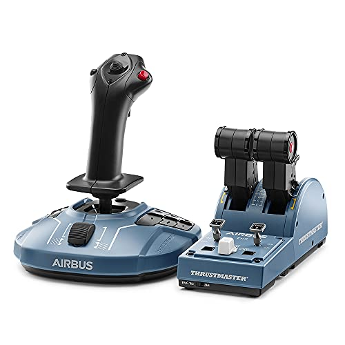 Thrustmaster TCA Officer Pack Airbus Edition: Ergonomic replicas of the...