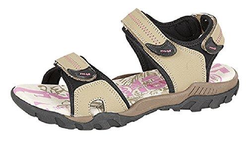 Sandales de sport PDQ adventure randonnée marche avec velcro, rose et gris, tailles 37, 38, 39.5, 40.5, 42 - Gris - rose,
