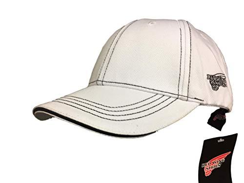 Red Wing - Gorra de béisbol - para hombre Blanco blanco Talla única