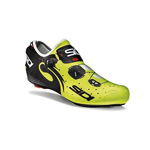 SIDI - 45217 : Cubre zapatillas lycra wire aerodinamico blanco/rojo