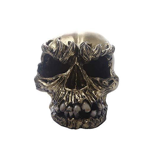 Creativa Monster Skull Decoración, Resina Realista Personalidad simulada Art cráneos Humanos Modelo Adornos for la Barra casera Ciencia Juguetes educativos, Crear una atmósfera WTZ012