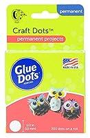 """Glue Dots .5"""" Craft Dot Roll-200 Clear Dots (並行輸入品) [並行輸入品]"""