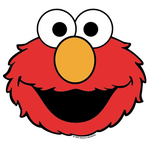 Sesame Street Elmo 8' Round Edible Image Photo Cake Topper Sheet Personalized Custom Customized Birthday - 8' Round - 74884