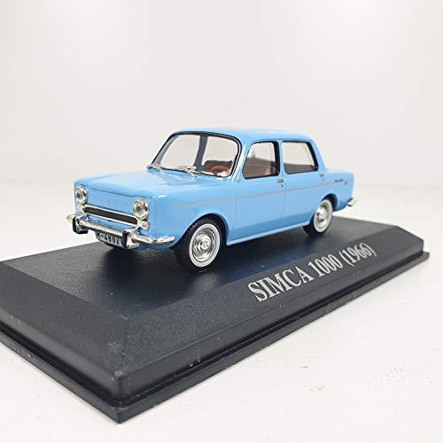 Desconocido 1/43 Auto Coche Car Simca 1000 Azul 1966 ALTAYA
