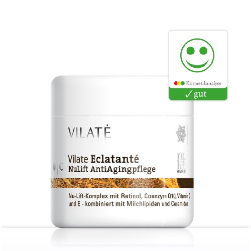 Vilate Éclatante NuLift Anti-Ageingpflege mit Retinol-Vitamin E + reinem Coenzym Q10 / 100 ml