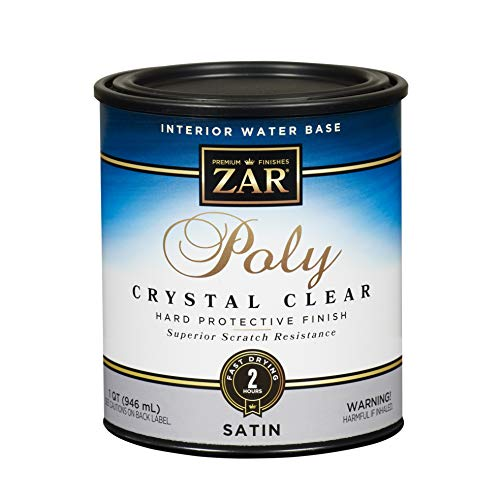 ZAR 32512 Aqua Water Based Polyurethane, Satin
