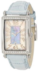 Gevril Women's 7247NT Avenue of Americas Blue Diamond Watch image
