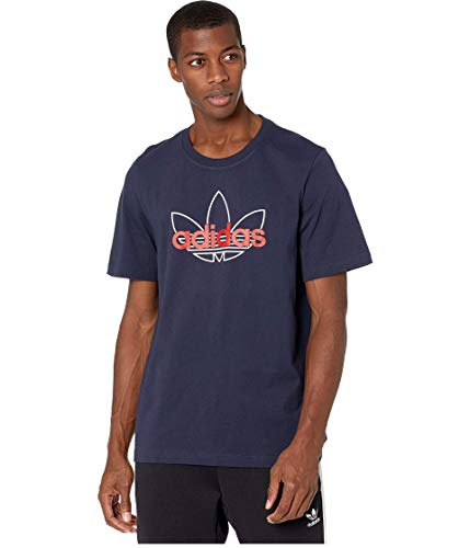 adidas Originals Camiseta deportiva para hombre - azul - XX-Large