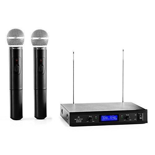 Malone VHF-400 Duo 1 juego de micrófonos inalámbrico de