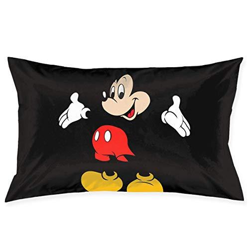 New-WWorld-Shop Kissenbezüge Mickey Mouse Cartoons Wurfkissenbezüge Körperkissenbezug für Autosofa Wohnkultur 20 'x 30'