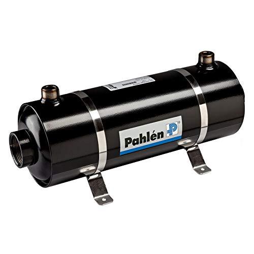 well2wellness® Pahlen Wärmetauscher Modell Hi-Flow 28kW in Edelstahl inkl. Halterung
