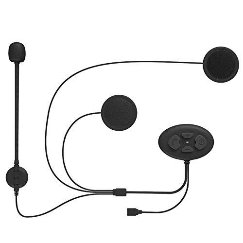 Pelnotac Auriculares de chip 5.0, DK11 casco BluetoothHeadset manos libres auriculares largo tiempo de espera