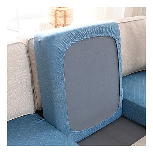 NSXBY Jacquard Spandex Tela Sofá Cubierta De Cojín,Elastic Couch Cushion Covers Protector De Muebles para Sofá Asiento Cojín Lavable Fácil Ajuste-