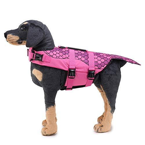 Hond Zwemmen Jas Hond Reddingsvesten Hond Zwemmen Vest Huisdier Reddingsvesten Reflecterende Hond Jas Hond Rain Jacket pink,xl
