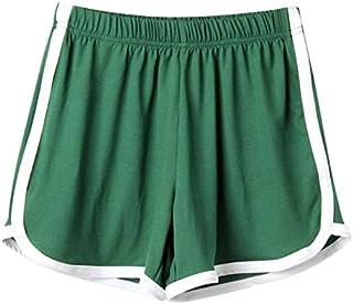 TS#501 Women Lady Summer Sport Shorts Beach Short Pants Yoga : Green, XL