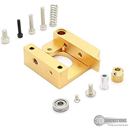 3D Innovations CHPSS524 Mk8 Extruder Aluminium Block DIY Kit: Right Hand Type