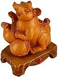 Accesorios para El Hogar Estatua De Rata/Ratón De Resina del Zodiaco Chino 2020 Figura De Feng Shui Coleccionable, Decoración De La Oficina En Casa Escultura Que Atrae La Riqueza Y La Buena Suerte