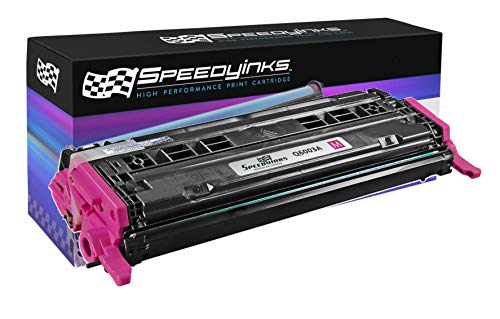 Speedy Inks Remanufactured Toner Cartridge Replacement for HP 124A (Magenta)