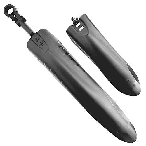 VORCOOL Durable Mountainbike Fahrradreifen vorne und hinten Schmutzfänger Kotflügel Kotflügel Set (schwarz)
