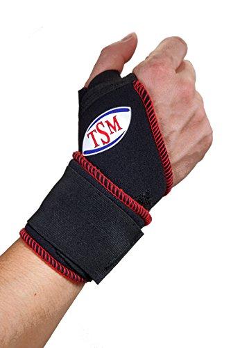 TSM Sportbandage Handgelenkgurt aktiv Stabil, One Size, 2212