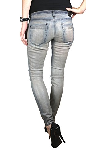 Drykorn Damen Jeans Hose Skinny Modell IN Coated Stretch (W29/L34)