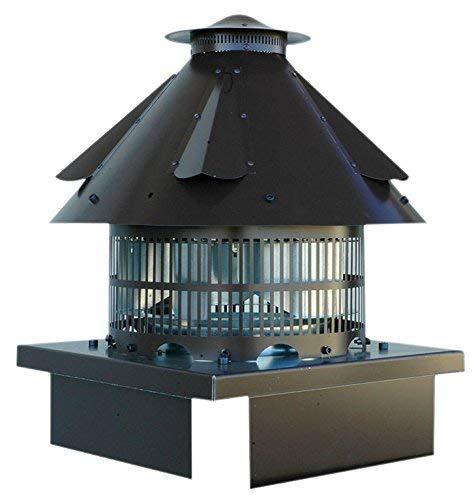 Tirafumi eléctrico-Extractor de humos-Cabeza de chimenea, conductos interiores-tubos