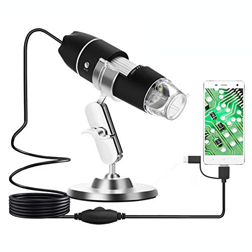 USB Microscope WADEO Digital Microscope Camera Magnification Endoscope...