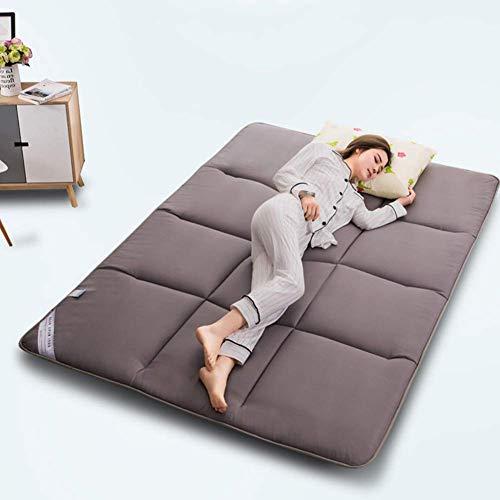 Colchón de futón japonés para el Suelo, colchón portátil para Acampar, colchón para Dormir para niños, colchón Plegable Enrollable, colchón de Viaje para Coche, colchón para futón Transpirable para d