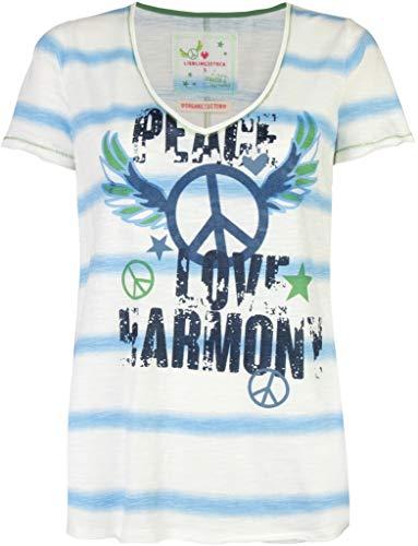 Lieblingsstück Damen T-Shirt MailaL blau/Weiss - L