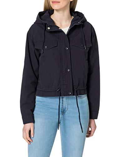 ONLY Damen ONLALLY Life Short Canvas Jacket OTW Jacke, Night Sky, M