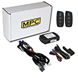 MPC Plug N Play Remote Starter for 2014-2019 Toyota Highlander |Push to Start| |Gas| with T-Harness - (2) Extended Range 4-Button 2-Way Remotes - Up to 1,500 ft