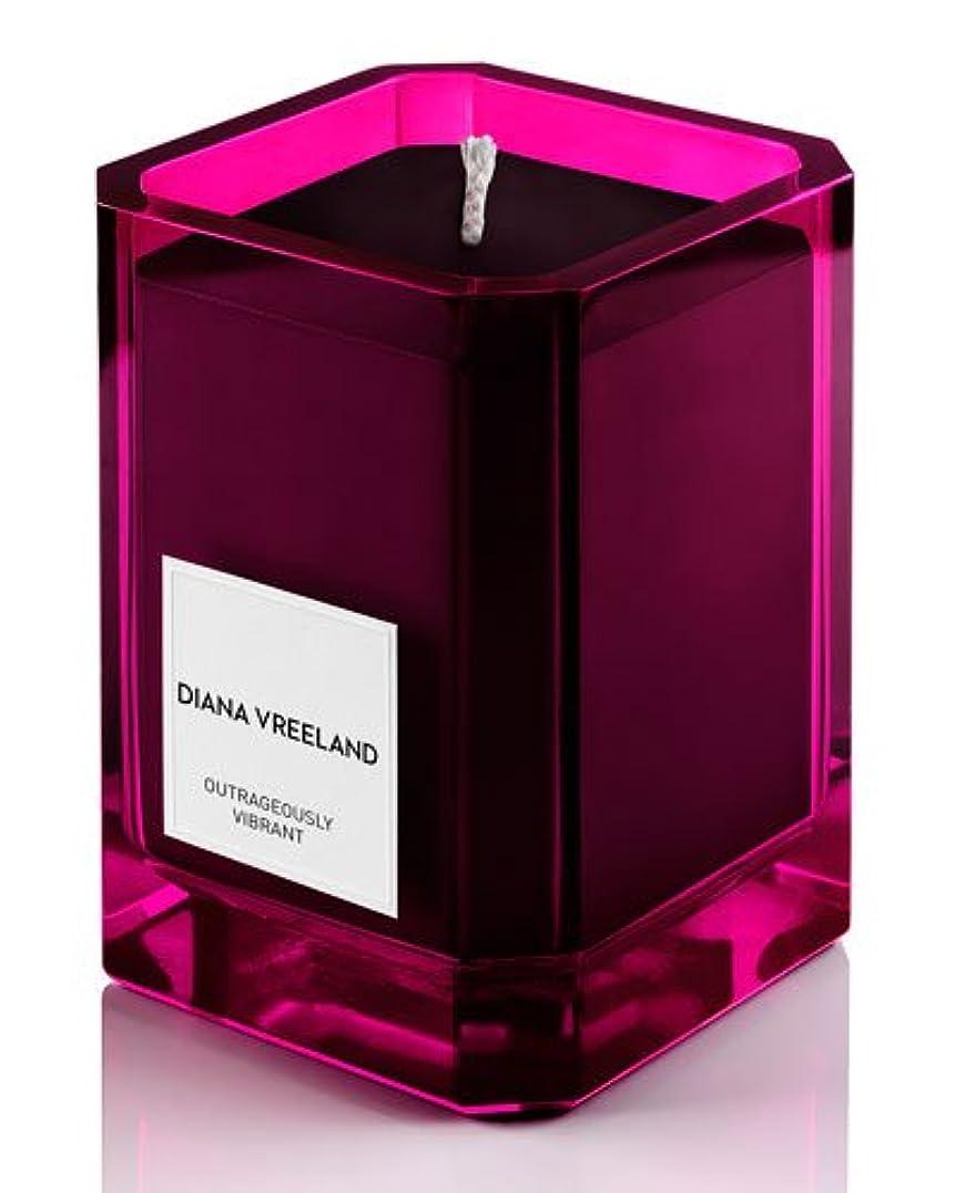 ブレス一致拮抗するDiana Vreeland Outrageously Vibrant(ダイアナ ヴリーランド アウトレイジャスリー ヴィブラント)9.7 oz (291ml) Candle(香り付きキャンドル)